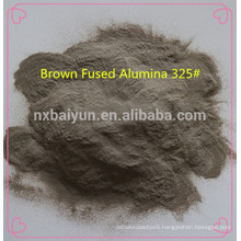 Abrasives & refractory raw material brown fused alumina grains