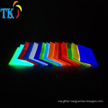 Glowing dark pigment powder Luminescent powder pigment Used for paint ink textiles