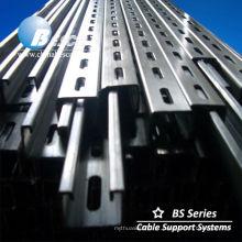 Canal Unistrut Steel C riel galvanizado (UL cUL NEMA)