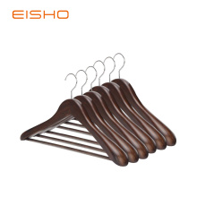 EISHO Natural Finish Durable Suit Hangers