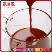 Razonable jugo de goji baya jugo de goji distribuidor goji en polvo