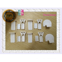 pleated accessories durable plastic pleated machinery