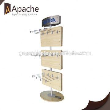 Stable performance sample greeting card display racks