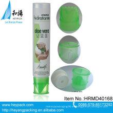 Nuevo tubo plástico del cuerpo del tubo del plástico de la crema