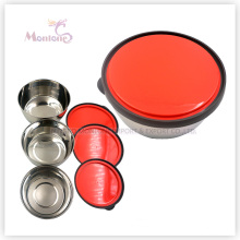 Stainless Steel Lunch Box with Plastic Lid (450ml 720ml 1000ml)