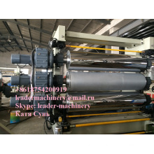 EVA Car Interiors Decoration Sheet Extrusion Line / Matt Calender/ Solar Cell Encapsulants Film Extrusion Machinery