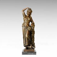 Classical Figure Statue Autumn Foison Bronze Sculpture TPE-182