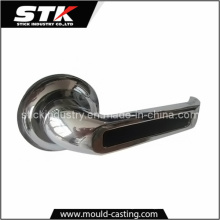 Zinc Alloy Door Handle by Pressure Die Casting (STK-14-Z0012)