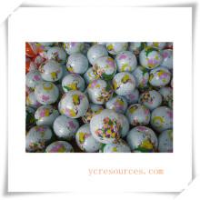 Juguetes inflables de pelotas de playa de asesoramiento / promoción de plástico (OS37003)