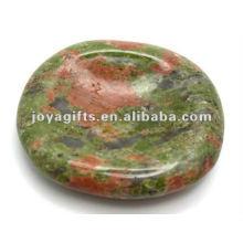 Unakite Preocupar piedra pulgar