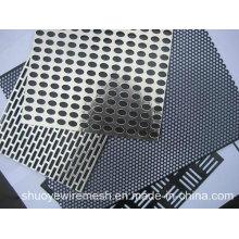 Высокое качество оцинкованной перфорированной металлической сетки для декоративной сетки