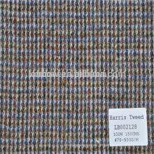 Disponível em tecido xadrez de lã de ações para jaqueta e casacos de inverno