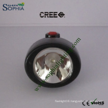 Soft Textile Head Band LED Cordless Mining Cap Lamp