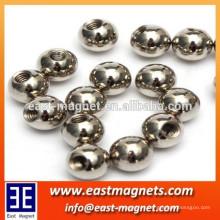 Imán eléctrico de la bola del hierro del neodimio caliente de la venta