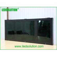 Exposição exterior nova do preço de gás do diodo emissor de luz Digital da estação do óleo do gás de Ledsolution