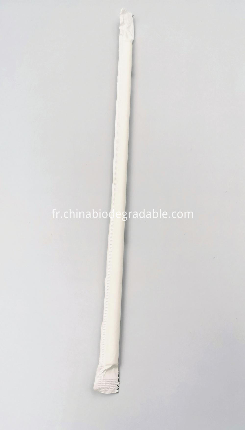 Compostable Natural Eco Plastic Straws