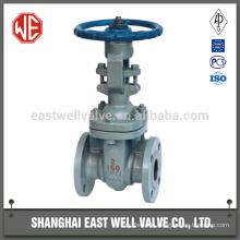 Gate valve flanged ends
