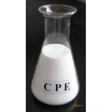 CPE 135a for impact modifier of PVC products