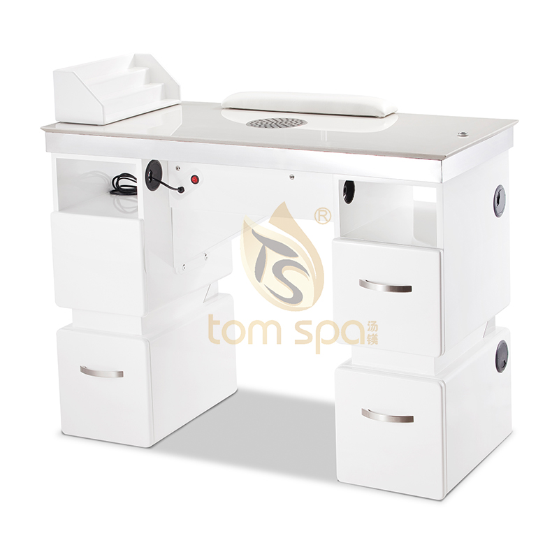 Manicure Nail Table with Granite-Top