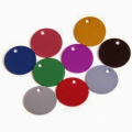 Wholesales Metal Round Shaped Pet Tags for Dogs (xd-08256)