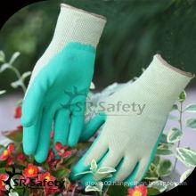 SRSAFETY 13G nylon liner foam latex glove work glove working protective gloves