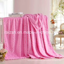 Coral Fleece Thick Gold Mink Blanket Sheets