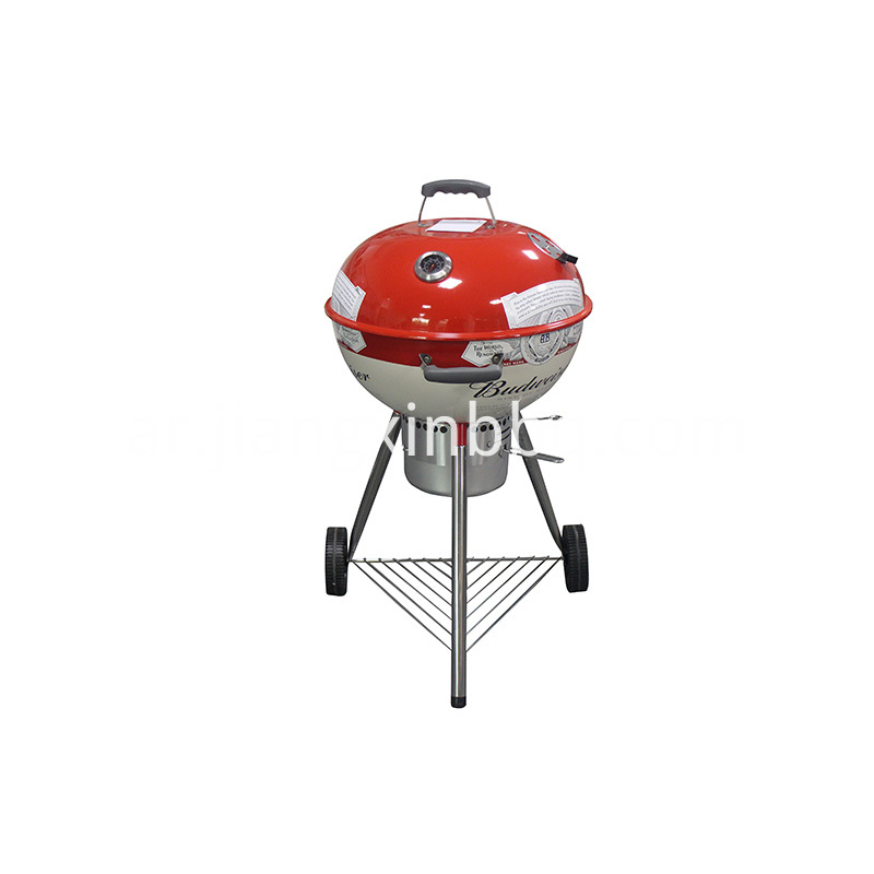 18 Inch Deluxe Weber Style Grill With Decal