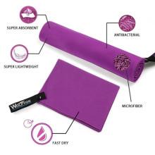 Toalha esporte personalizado, toalha de camurça de microfibra Eco-friendly