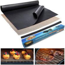 Non-stick PTFE BBQ grill mesh mat
