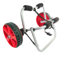 U-shape aluminum kayak cart