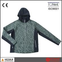 Por atacado novo estilo do Privite Label Popular Mens moda malha Fleece Jacket