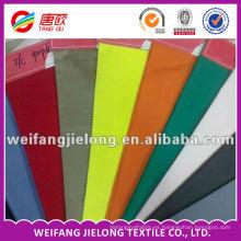 tela colorida del forro del bolsillo de los pantalones de T / C coloridos de alta calidad