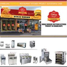 Fast Food d'équipement utilisé pour le restaurant