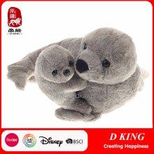 Juguetes de felpa de animales rellenos blandos de sello de Yangzhou para la venta