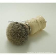 Cepillo de afeitar profesional del tejón profesional