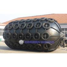 Defensa marina inflable de goma neumática de Yokohama para que la nave envíe, transfiera a Quay combinado con ISO 17357: 2014