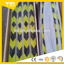 Green/Black Reflective arrow tape
