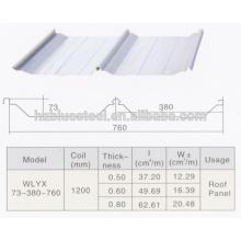 Автоматическое хорошее качество PLC Industrial Self Lock оцинкованная крыша машины для продажи