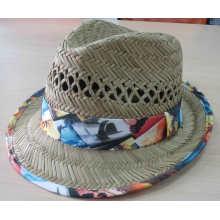 Sombrero de verano de sombrero de paja de la muchacha de la manera 2016 (SW-080001)