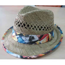 2016 Мода девушка соломенной шляпе летняя шляпа (SW-080001)