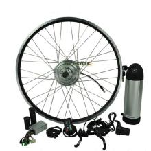 Kit de bicicleta de conversión eléctrica barata de la batería trasera del paquete 350W