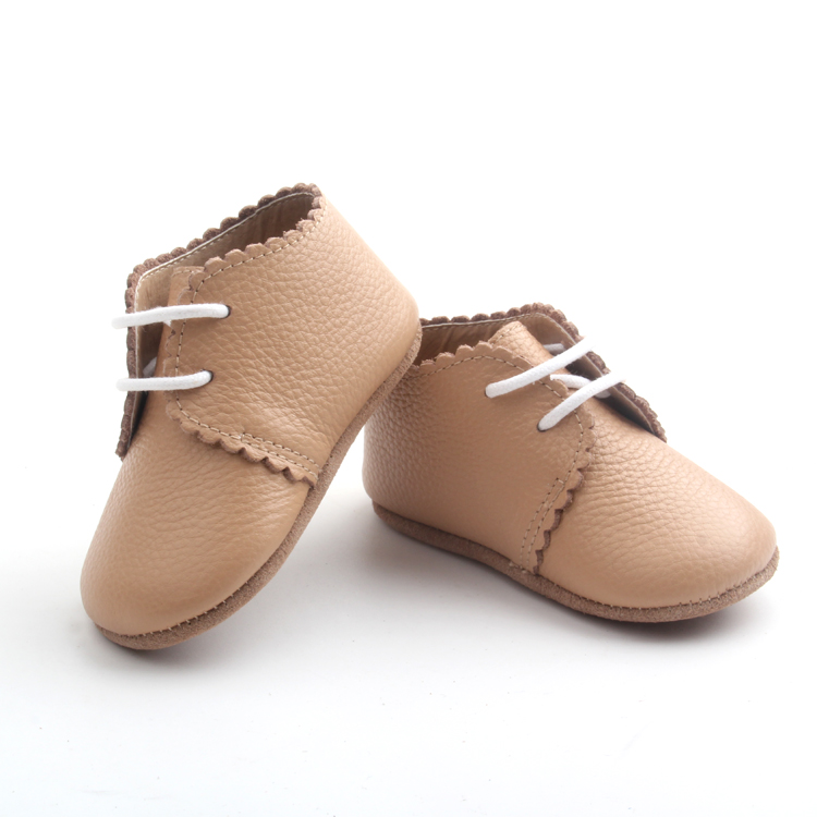 High Ankle Leather Baby First Walker Shoes