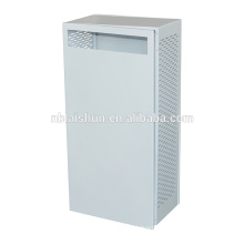 iron electric cabinet with black powder coating