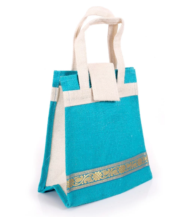 Design jute tote bag