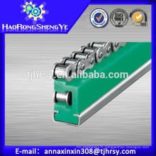 UHMWPE ETA Type de rouleau Guides de chaîne pour l'industrie de la production de payper