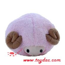 Plush Animal Cartoon Sheep Stuffed Toy (TPWU12)