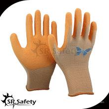 SRSAFETY 13G латексная защитная рабочая перчатка / латексная защитная перчатка, латексные перчатки в китайских перчатках