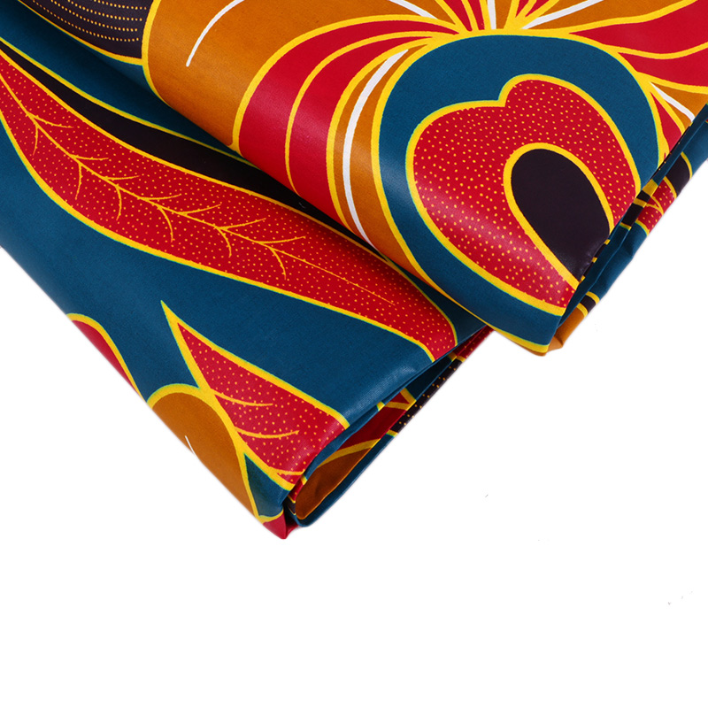 Plain African Wax Fabric