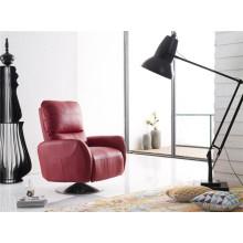 Modern Sofa Swivel Arm Chair with Push Back