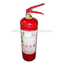 Powder fire extinguisher ABC 4kg/DCP fire extinguisher/abc bc dry chemical powder for fire extinguisher